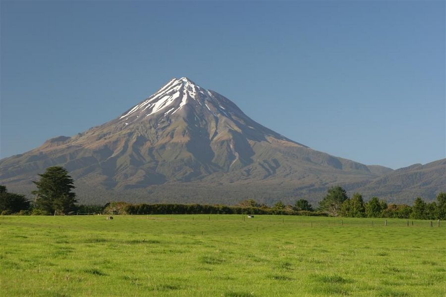 Mt. Taranaki, Mount Taranaki, New Zealand, photo