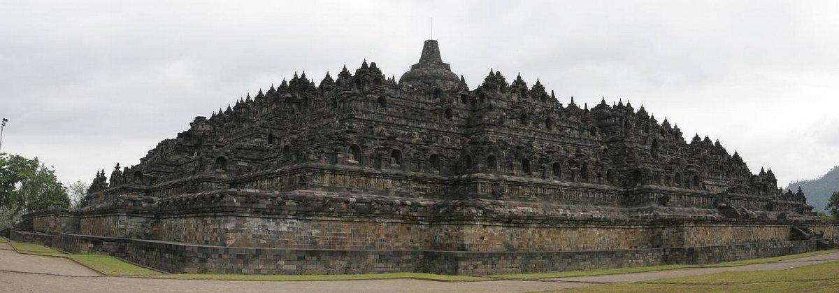 Temple of Borabudur, Indonesia, photo