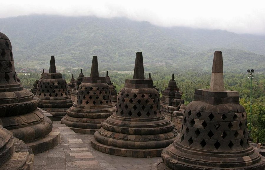 Temple of Borabudur, Indonesia, photo