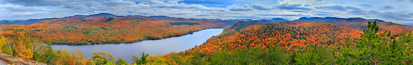 Little Thirteenth Lake Mt.,Thirteenth Lake,treetop,Gore Mt,fall,autumn,foliage,panorama,13th lake,, photo