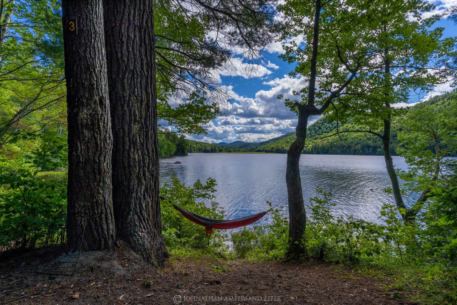 Thirteenth Lake,summer,sunny,day,2020,hammock,