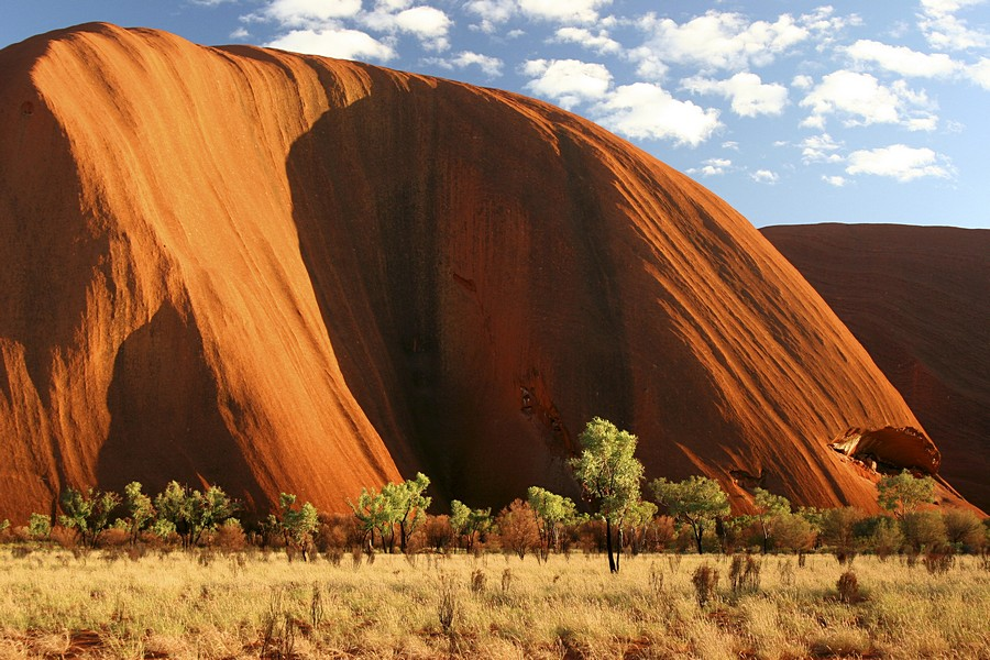 Uluru (Ayers Rock) in the Outback of Australia, one of the world's iconic natural landmarks and top tourist destinations. Uluru...