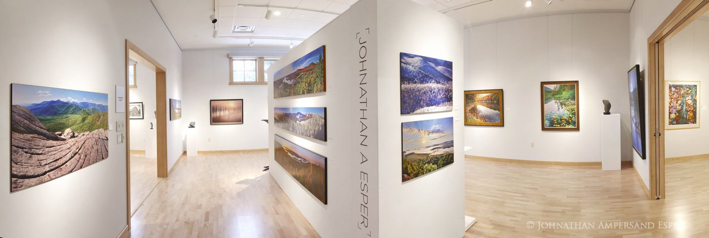 View Arts Center, Old Forge, Gallery, Exhibition, 2012, photo