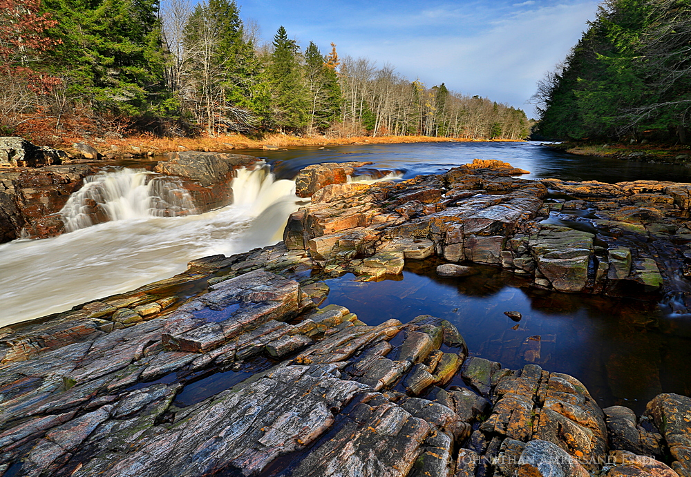 West Canada Creek,Nobleboro,falls,southwestern Adirondacks,November,river,Adirondack river,West Canada Creek falls,, photo