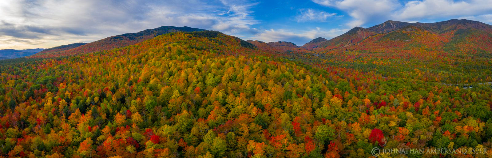 Whiteface Mt,Wilmington,Fox Farm Rd,drone,2019,fall,Whiteface Mountain,Sentinel Range,panorama, photo