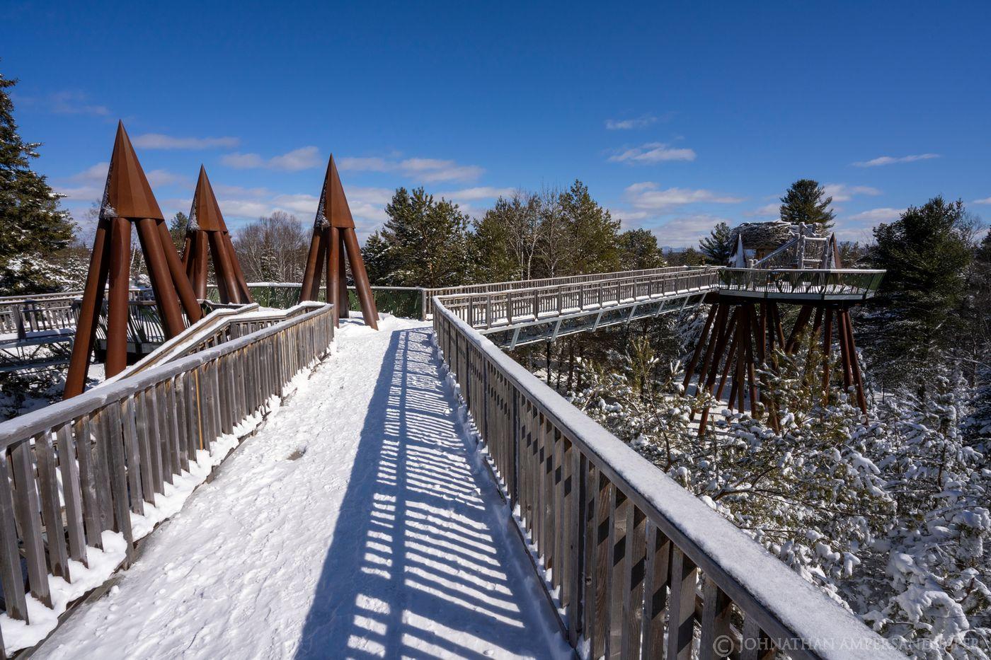 The Wild Center,Tupper Lake, Canopy Walk,