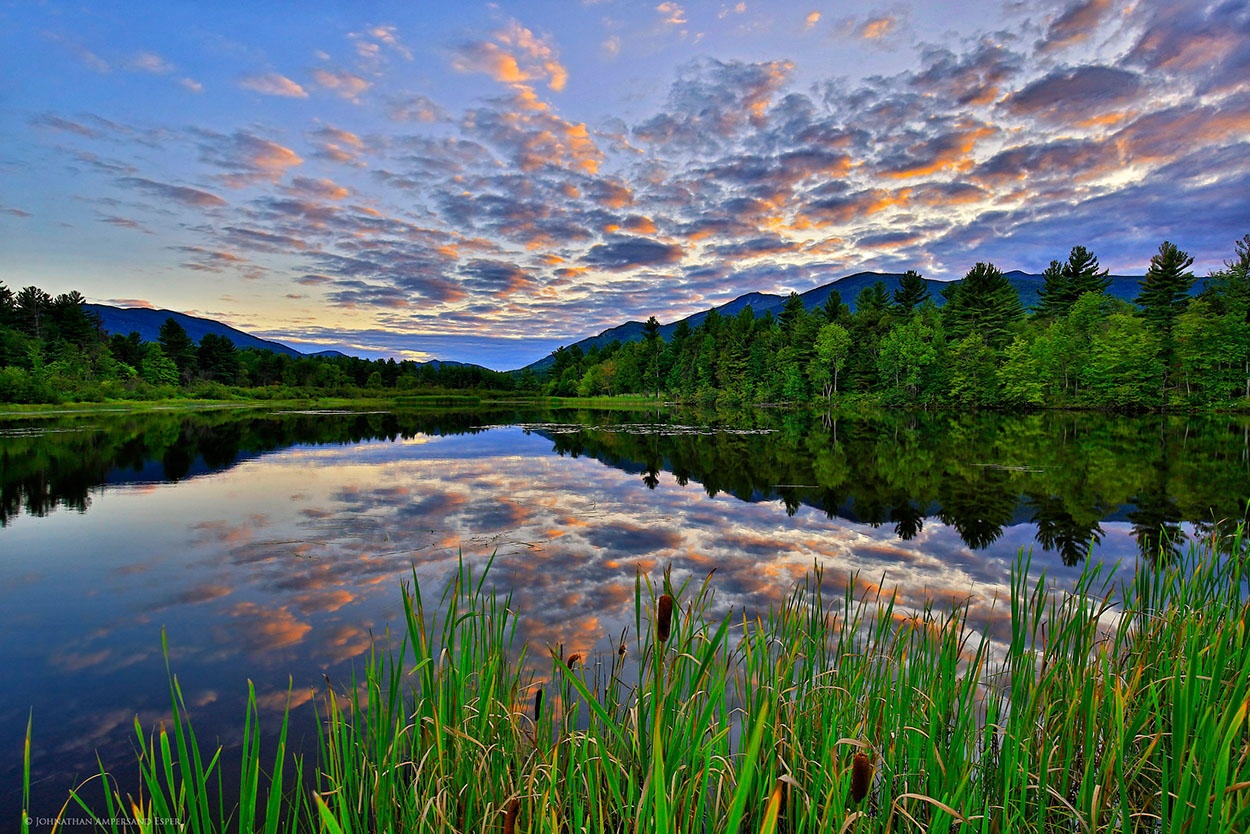 Wilmington,town of Wilmington,beach,Lake Everest,Wilmington beach,reflection,Whiteface Mt,summer,sunset, photo