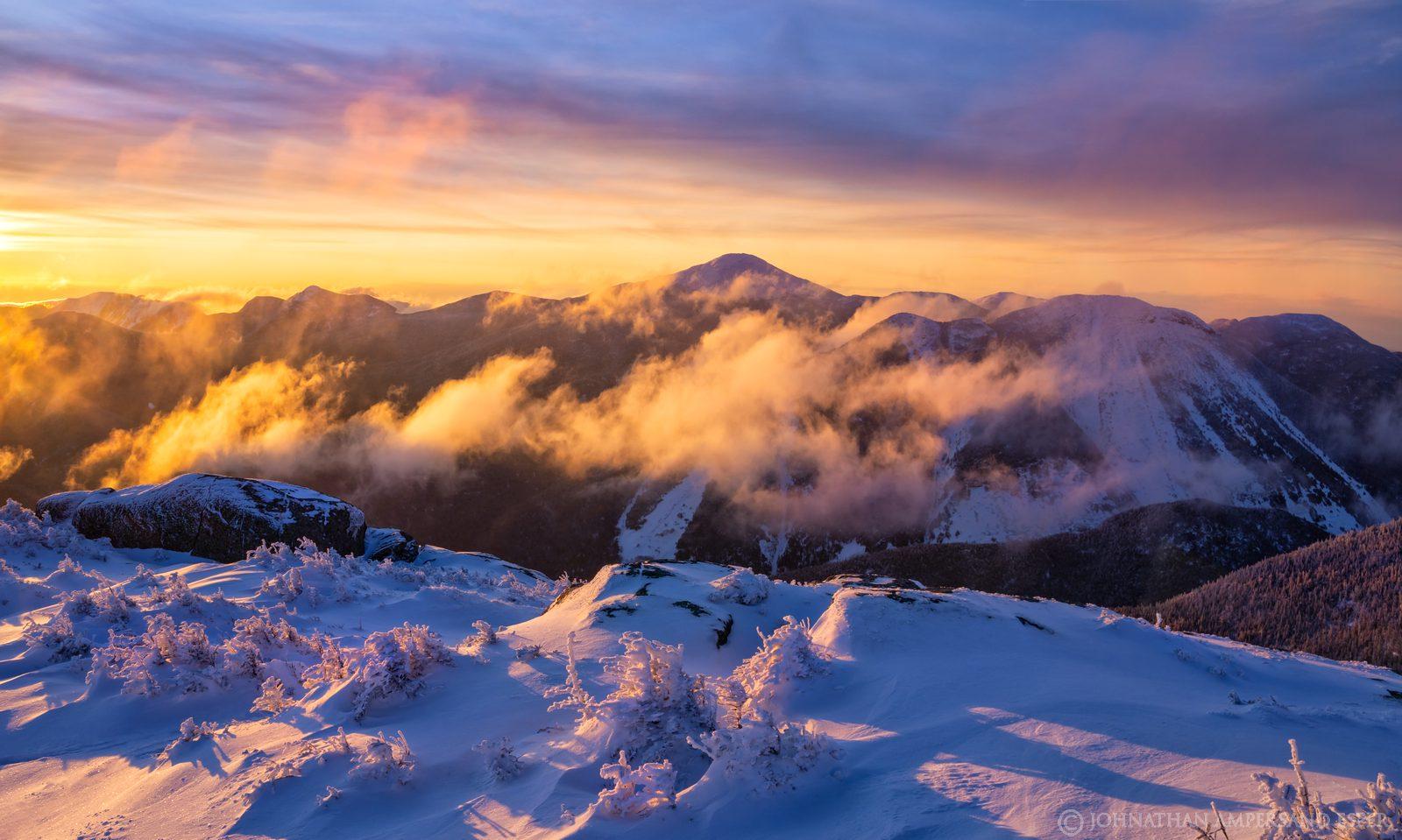 Mt Marcy,Mt. Marcy,Colden,High Peaks,winter 2020,2020,winter,snow,Adirondack Mountains,Adirondacks,sunrise,Wright Peak,Wright...