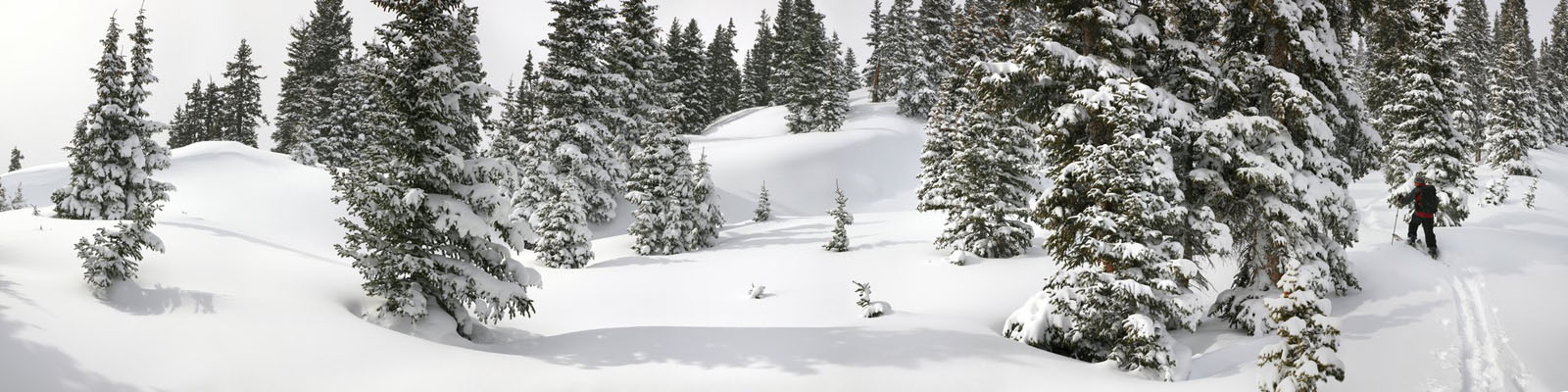 splitboarding,backcountry,skiing,Colorado,snow,deep,wilderness,mountains,panoramic,, photo