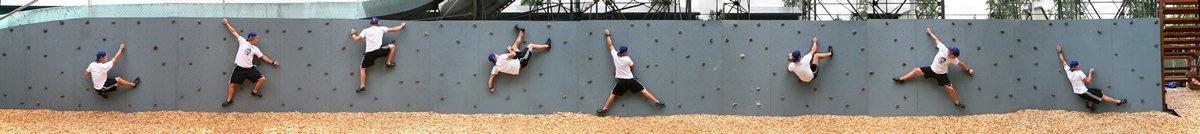bouldering wall, bouldering, panorama, Riverview Bible Camp, Josh Rhoads, photo
