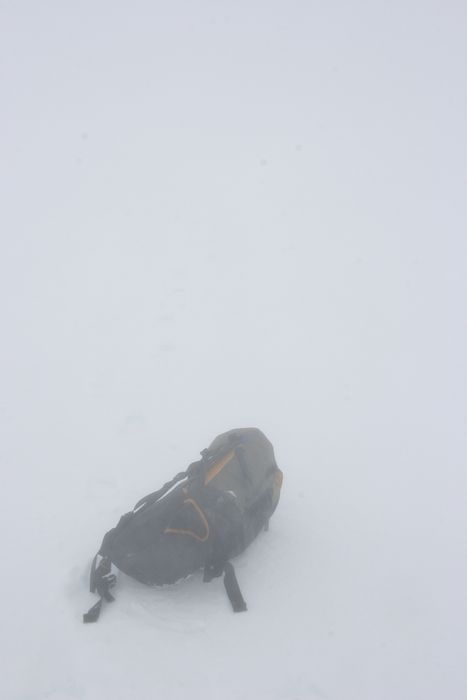 whiteout, Ruapehu, visibility, poor, no, snowy, white, photo