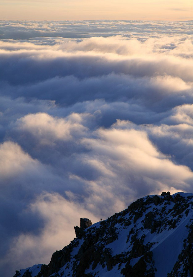 solo,mountaineer,mountaineering,climber,Denali,Denali National Park,highest,mountain,North America,Alaska,high,altitude,, photo