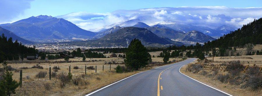 Estes Park, Colorado, town, of, photo